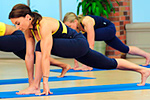 stretch and yoga fitness workout video photo
